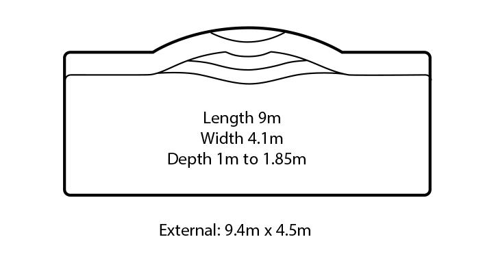 aquarius fibreglass swimming pool design