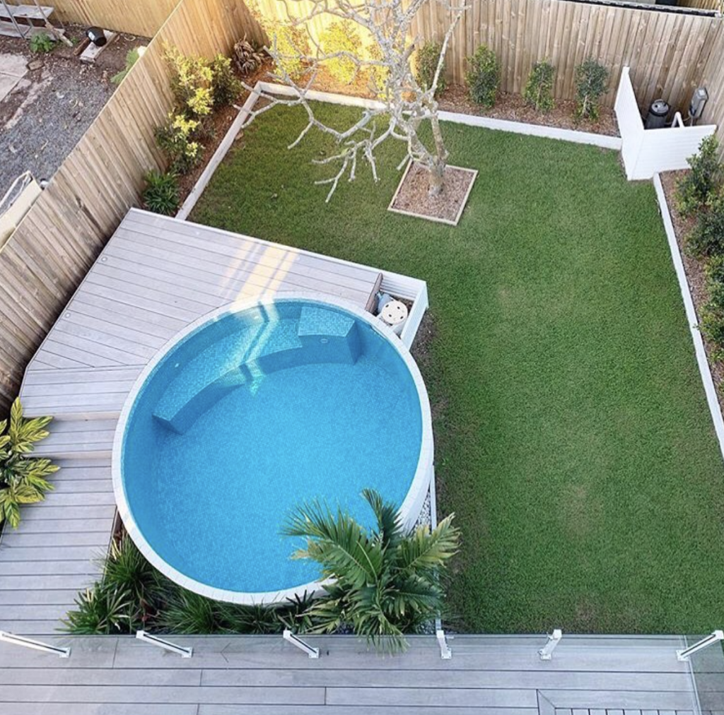 Image of: Large Precast Concrete Plunge Pool Pool Garden Design Sydney Northern Beaches North Sydney
